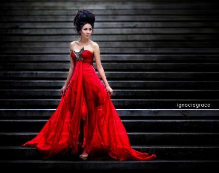 lady in RED by IgNgRez