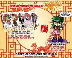 Summer Komikon 2014 Pre-Order AD by lady-storykeeper