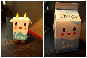 Tokidoki Milk Figure by deconstructedstars