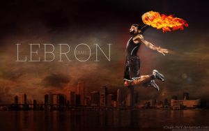 Lebron James Wallpaper by rOnAn-Ncy