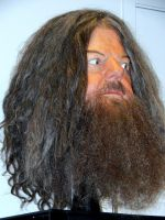 hagrid.head harry potter film set props.WB tour by Sceptre63