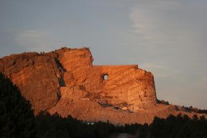 Crazy Horse Monument. by Anasazi2060
