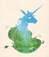 The Last Unicorn by kathemo