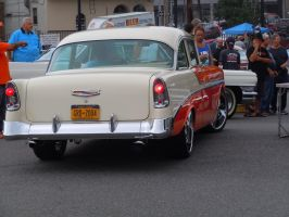 1956 Chevrolet Bel-Air On The Move II by Brooklyn47