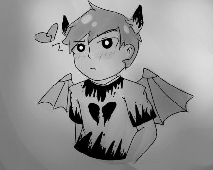 Demon!Luis Doodle by DesmyTool
