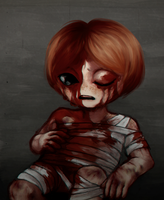 Lazarus 2v ( The Binding of Isaac: Rebirth ) by Traicere
