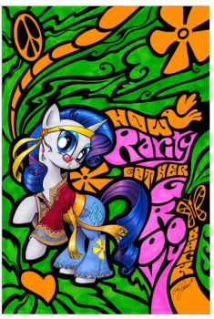 Rarity Micro Series Cover by andypriceart