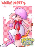 Pop'n Music :: White-Merry by nyotaro