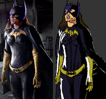 Attempt 12 -- Dina Meyers Batgirl by SEwing0109