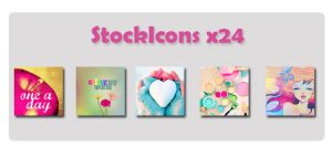 StockIcons x24 by claudis3000