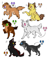 Puppy adopts -closed- by snowie-owl