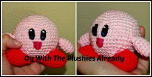 Kirby Amigurumi by oywiththeplushies