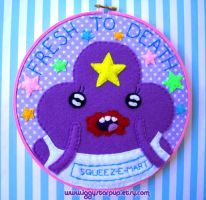 LSP FRESH TO DEATH Embroidery by iggystarpup