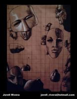 Masks by Jorell-Rivera