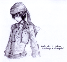 Sketch request 5: Lincoln by trainingartist