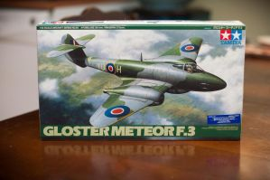 Gloster Meteor F.3 by AEisnor