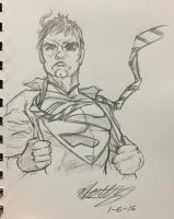 Superman by ansem-the-dead