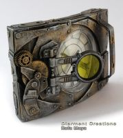 steampunk clock XXVII by Diarment
