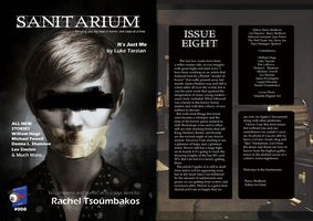 Sanitarium Magazine Cover Art by ValantisDigitalArt