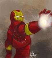 Iron man by wogeic