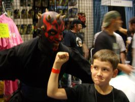 showin' darth maul what's up by alteredboxes