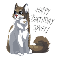 Little birthday gift for spuffercakes by DancingfoxesLF