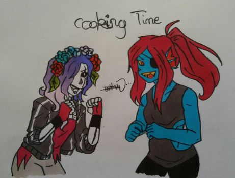 Cooking Time by MalikiFlowers30