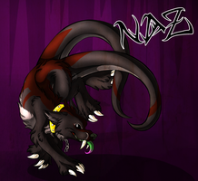 Naz the Hellhound by Faylenn