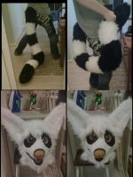Fursuit WIP updates by RaviTheBlueTiger
