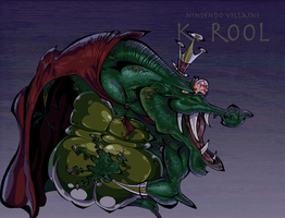 Nintendo Villains - King K. Rool by BrendanCorris