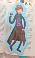 Adventure Time/Sherlock Bookmark by EvaHolder