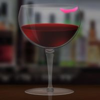 Wine Glass Icon 16-512px by Tinsdar