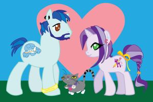 My Little Pony Family! by animeangel07