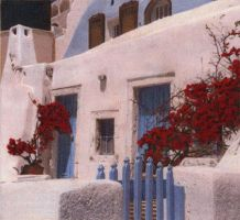Greek Villa by Artiste-LiLi