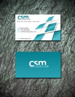 CSM Flooring Biz Card by KyleValenti