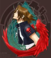 KH1 + Leonhart by BakaMandy