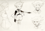 Goblin Girl Sketches by Vol-chan