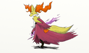 Delphox- Pokemon X and Y by shockzekrom