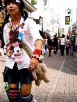 Harajuku Girl by beheaded