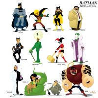 Batman International by WarBrown