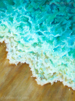Surf original acrylic painting by shmeeden