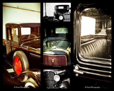 Old Model Ford Collection A by OrianiPhotography