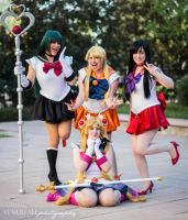 The Senshi just want to have fun by MissMina2