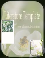 Litearture Template Pack by Moon-WillowStock