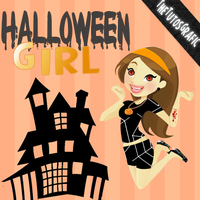 GirlHalloween.Png by TheTutosGrafic