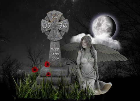 Angel Statue for xwidget by Jimking