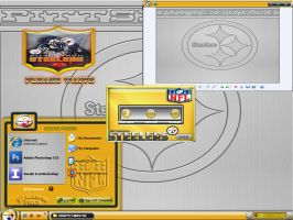 PITTSBURGH STEELERS... DESKTOP by graffitimaster