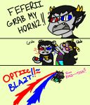Grab My Horn2 by TheChinesePalmTree