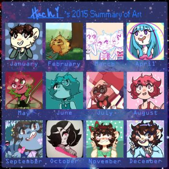 2015 Summary of Art by Hachi-ban