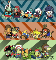 Pokemon Special - Dex Holders Pokemon by xLadyBerlitz
